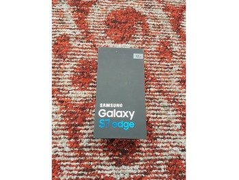 Galaxy s7 edge silver 32gb