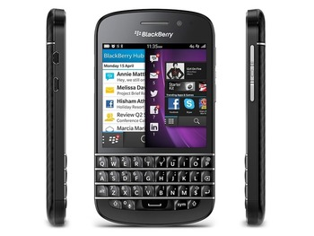 Новый BlackBerry Q10